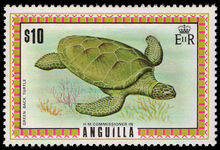 Anguilla 1972 Green Turtle unmounted mint.