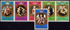 Anguilla 1975 Christmas unmounted mint.