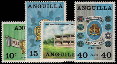 Anguilla 1968 Girl Guides unmounted mint.