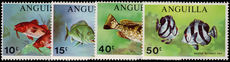 Anguilla 1969 Fishes unmounted mint.
