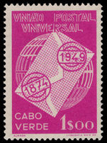 Cape Verde 1949 UPU unmounted mint.
