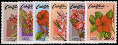 Cape Verde 1980 Flowers unmounted mint.
