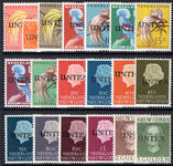 Netherlands New Guinea 1962 West New Guinea UNTEA set type I unmounted mint.