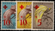 Netherlands New Guinea 1955 Red Cross unmounted mint.