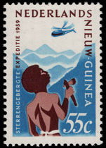 Netherlands New Guinea 1959 Stars Mountain Expedition unmounted mint.