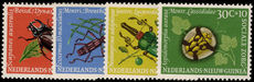 Netherlands New Guinea 1961 Social Welfare, insects unmounted mint.