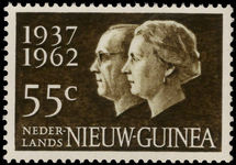 Netherlands New Guinea 1962 Silver Wedding unmounted mint.