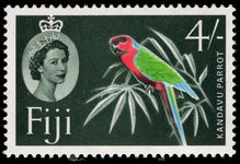 Fiji 1959-63 4s Red Shining Parrot unmounted mint.