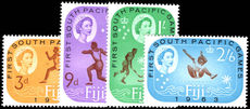Fiji 1963 South Pacific Games unmounted mint.