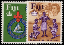 Fiji 1964 Scouts unmounted mint.