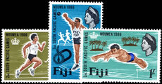 Fiji 1966 South Pacific Games unmounted mint.