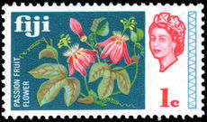 Fiji 1969 1c Passion Flowers unmounted mint.