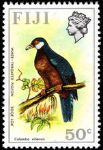 Fiji 1975-77 50c White-throated Pigeon unmounted mint.