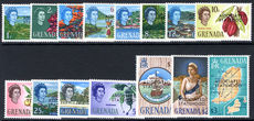 Grenada 1967 Statehood set unmounted mint.