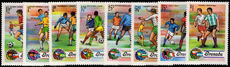 Grenada 1974 World Cup Football unmounted mint.