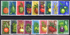 Montserrat 1965 Fruit and Vegetables unmounted mint.