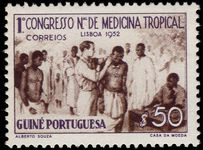 Portuguese Guinea 1952 Tropical Medicine lightly mounted mint.