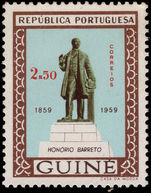 Portuguese Guinea 1959 Honorio Barreto lightly mounted mint.