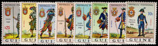 Portuguese Guinea 1966 Military Uniforms unmounted mint.