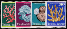 Tokelau 1973 Corals unmounted mint.