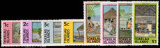 Tokelau 1976 set unmounted mint.