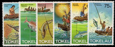 Tokelau 1982 Fishing methods unmounted mint.