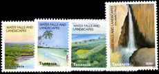 Tanzania 2003 Waterfalls and Landscapes unmounted mint.