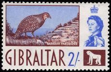 Gibraltar 1960-20 2s unmounted mint.