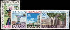 Barbados 1967 Independence Anniversary unmounted mint.
