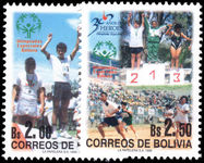 Bolivia 1999 Special Olympics unmounted mint.