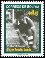 Bolivia 2000 Victor Agustin Ugarte unmounted mint.