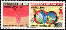 Bolivia 2000 Anti-AIDS Campaign unmounted mint.