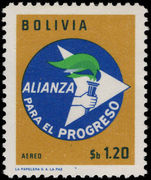 Bolivia 1963 Alliance for Progress unmounted mint.