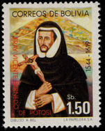 Bolivia 1976 Brother Bernedo unmounted mint.