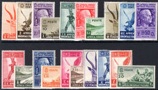 Italian East Africa 1938 set fine lightly mounted mint.