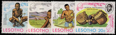 Lesotho 1975 Basotho Musical Instruments unmounted mint.