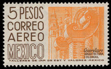 Mexico 1962-75 5p yellow-orange and brown perf 14 wmk 230 unmounted mint.
