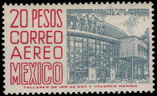 Mexico 1962-75 20p bluish-grey and carmine perf 14 wmk 230 unmounted mint.