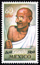 Mexico 1969 Gandhi unmounted mint.