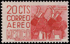 Mexico 1959-73 20c rose recess MEX-MEX perf 11½x11 unmounted mint.
