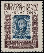 Mexico 1956 Philex unmounted mint.