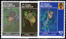 Brunei 1990 Endangered Species unmounted mint.