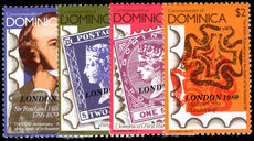 Dominica 1980 London 80 unmounted mint.