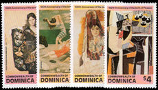 Dominica 1981 Picasso unmounted mint.