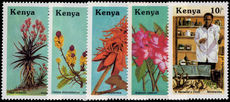 Kenya 1987 Medicinal Plants unmounted mint.