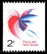 Papua New Guinea 1969 2c coil unmounted mint.