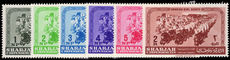 Sharjah 1964 Girl Scouts unmounted mint.