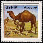 Syria 1998 Dromedaries unmounted mint.