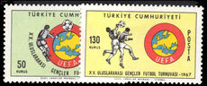 Turkey 1967 Junior Football unmounted mint.