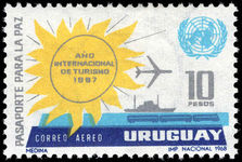 Uruguay 1968 Tourism Year unmounted mint.